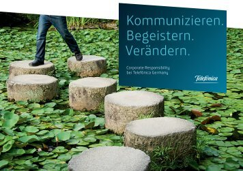 Telefónica Germany - CR-Broschüre - diskutiere