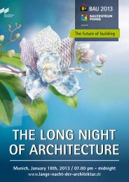 Programme 2013 (PDF - 8,4 MB) - Die lange Nacht der Architektur