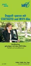 pdf-Datei: Kooperation MVV und STATTAUTO – Stand