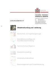 LEISTUNGSÃœBERSICHT Altlastenerkundung und - Nickol & Partner ...