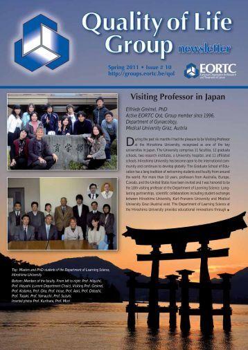 Newsletter Issue 10 - the EORTC Groups Websites