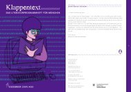 Dezember-Ausgabe des KLAPPENTEXT lesen! (PDF - literatur ...