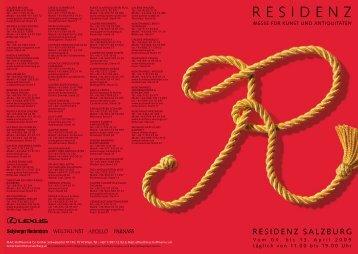 RESIDENZ - ART&ANTIQUE Residenz Salzburg