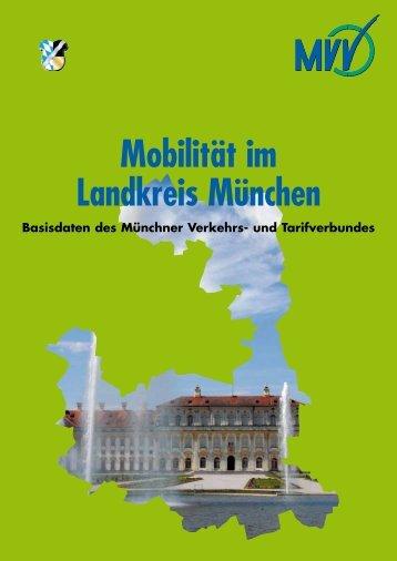 Broschüre Mobilität im Landkreis München - MVV
