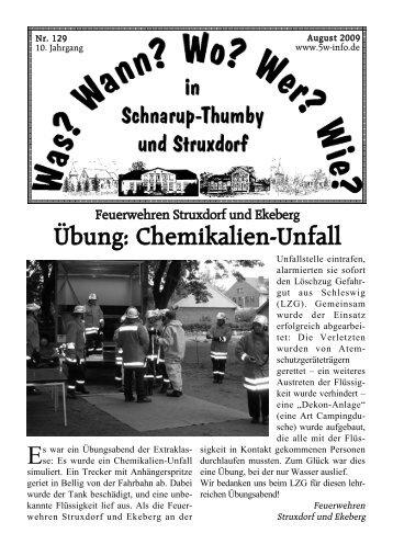 August 2009 - Wann? Wo? Wer? Wie? in Schnarup-Thumby