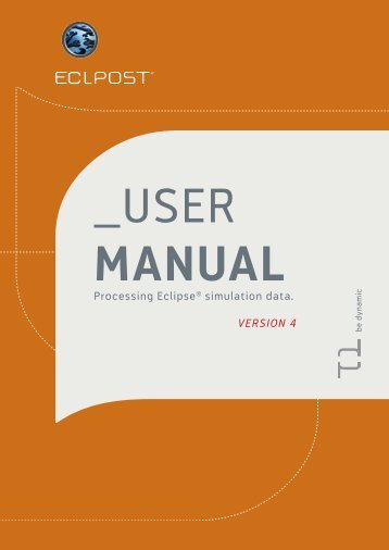 Eclpost User Manual - SPT Group