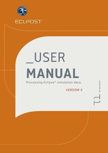 Eclpost User Manual - SPT Group
