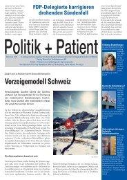 Vorzeigemodell Schweiz - Gesellschaft der Ärztinnen und Ärzte des ...
