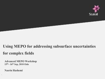 Advanced MEPO Workshop - SPT Group