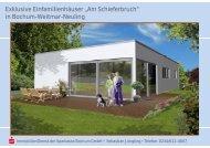 """Exklusive Einfamilienhäuser """"Am Sch in Bochum-Weitmar-Neuling ..."""