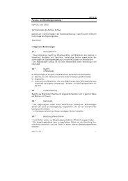 Personal- und Besoldungsverordnung - Kanton Schwyz