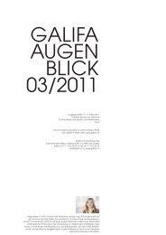 Contact - Galifa Contactlinsen AG