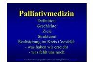 Palliativmedizin - Kreis Coesfeld