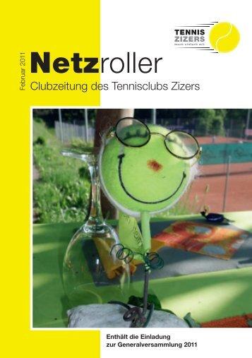 Ausgabe Februar 2011 (PDF-Datei) - Tennisclub Zizers