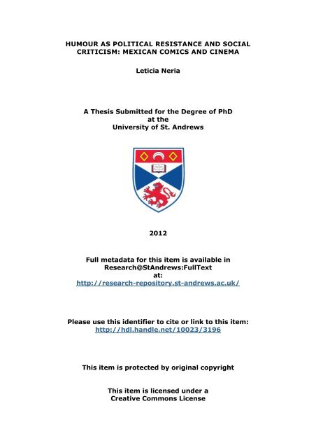 Leticia Neria Phd Thesis Research Standrews Fulltext