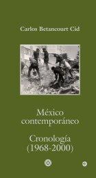 México contemporáneo Cronología (1968-2000) - INEHRM