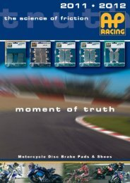 moment of truth MOTORCYCLE APPLICATIONS - Pinkmotors