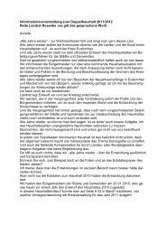 Rede Landrat - Kreis Euskirchen