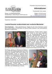 Informationen - Kreis Euskirchen