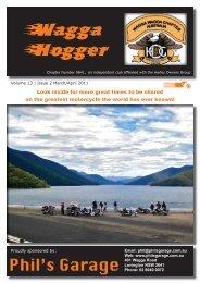 Mar/Ap 2011 - Wagga Wagga HOG