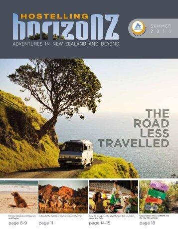Summer 2011 - YHA New Zealand