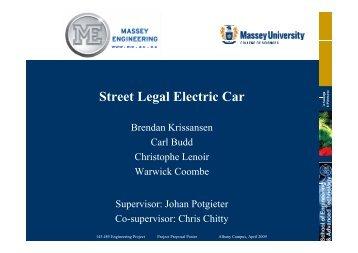 Street Legal Electric Car