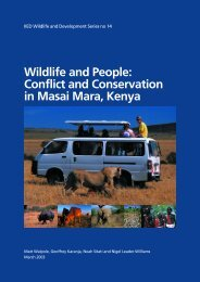 Wildlife and People: Conflict and Conservation in Masai Mara, Kenya