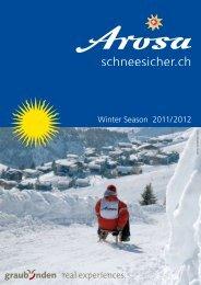 Winter Season 2011/ 2012 - Arosa