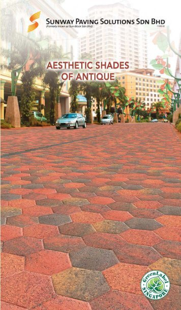 Malaysia Manufacturer of interlocking concrete pavers