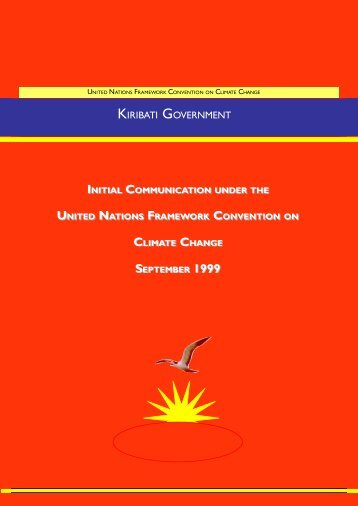 kiribati government - United Nations Framework Convention on ...