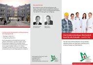 Das Kreiskrankenhaus Mechernich baut für die Zukunft