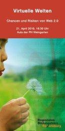 Flyer Virtuelle Welten:Layout 1.qxd - Kreismedienzentrum Ravensburg