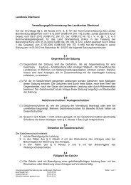 Landkreis Oberhavel Verwaltungsgebührensatzung des ...