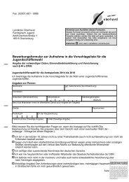 Download Bewerbungsformular - Landkreis Oberhavel