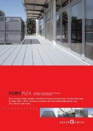 Produkteblatt Duroplex
