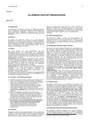 § 1 Allgemeines - Galvaswiss AG
