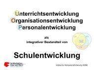 Unterrichts-, Organisations-, Personalentwicklung - Kreis Paderborn