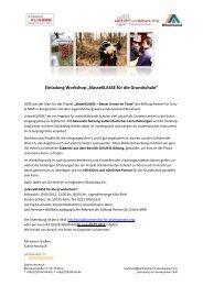 """Einladung Workshop """"klasseKLASSE für die ... - Kreis Paderborn"""