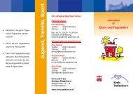 Broschüre Tagespflege - Kreis Paderborn