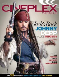 Cineplex Magazine May2011
