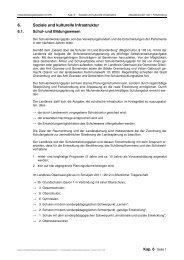 Kapitel 6 - Soziale und kulturelle Infrastruktur - Landkreis Oberhavel