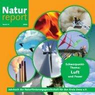 Naturreport 2008 - Kreis Unna