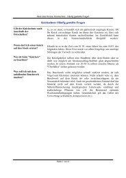 Knickschutz: Häufig gestellte Fragen - Kreis Stormarn