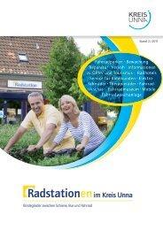 Broschüre Radstationen im Kreis Unna (PDF)