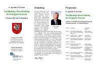 6. Agenda 21-Forum Nachhaltige Entwicklung bei ... - Kreis Stormarn