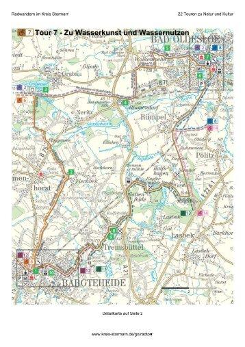 Karte - Kreis Stormarn