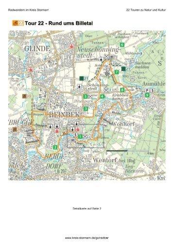 Tour 22 - Rund ums Billetal - Kreis Stormarn