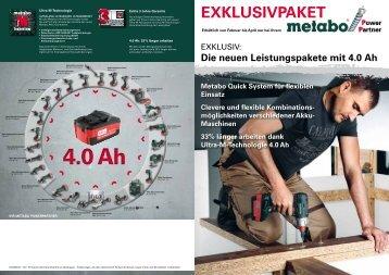 Jetzt NEU unser Power Partner Angebot von METABO - Klose-ms.de