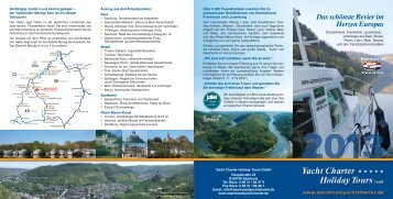 Flyer 2013-Download - Yachtcharter-Holiday-Tours GmbH