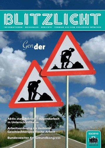 Blitzlicht-2010-03 - Kreuzbund Diözesanverband München und ...